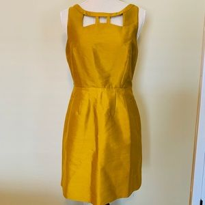 Anthropologie [Maeve] Dress NWT, Gold